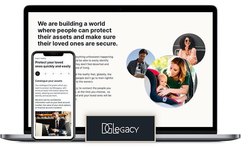 DGLegacy - asset protection and digital inheritance service