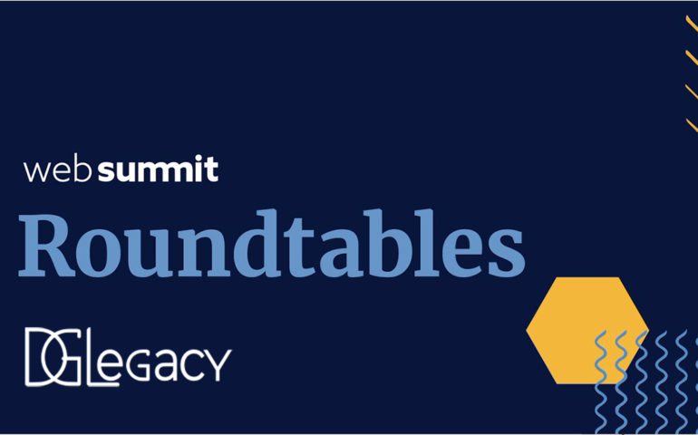 """DGLegacy selected over 2000 participants to """"Own and Tell"""" our story at Web Summit 2020!"""