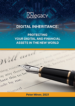 """The book """"Digital Inheritance: protecting your digital and financial assets in the new world"""" is already out"""